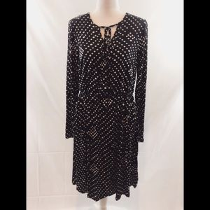 B Collection by Bobeau Galilea Surplice Dress